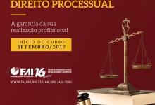 Pós-Graduação em Direito Processual: Inscrições Abertas!