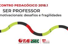 Confira a programação do Encontro Pedagógico 2018.1